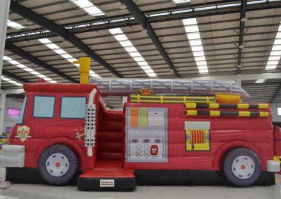Hüpfburg Feuerwehr Truck