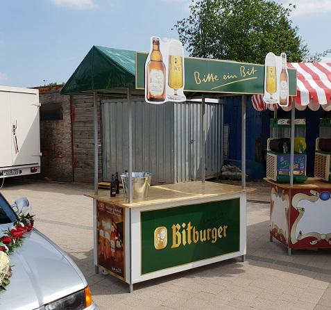 Bitburger Stand