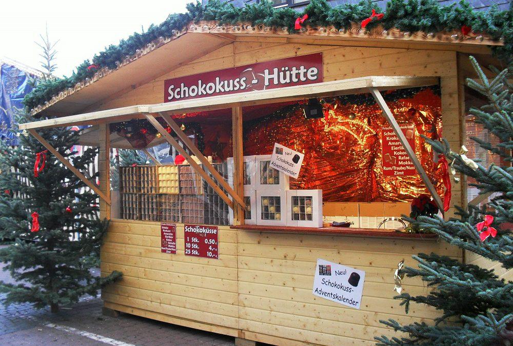 Weihnachtsmarkt Hütte 4m
