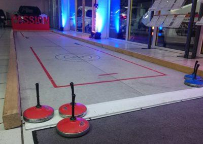 Fun Curling Bahn / Eisstockschiessen