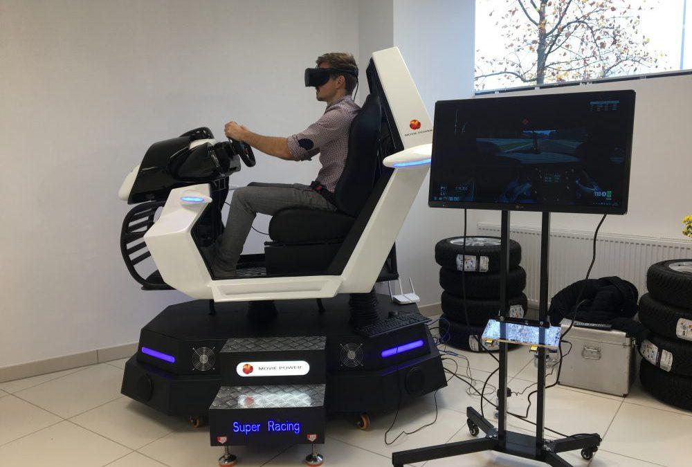 VR Simulator Super Racing