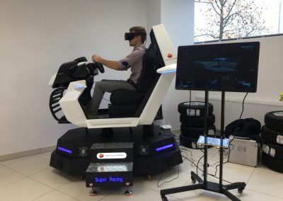 VR Simulator Super Racing