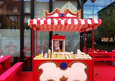 Popcornstand Süß Nostalgiestand