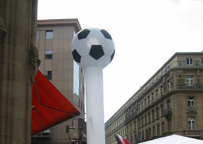Sky Dancer Fussball
