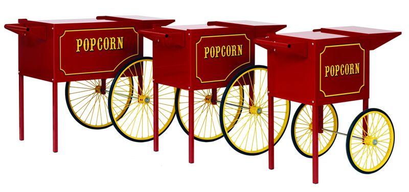 Unterwagen Popcornmaschine