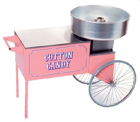Unterwagen Zuckerwattemaschine