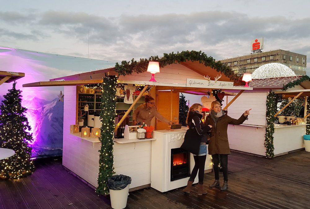 Weihnachtsmarkt Hütte 3m