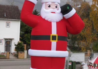 Weihnachtsmann (Aufblasbar)